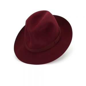 Voyager Trilby Burgundy Lock Co