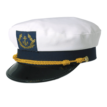 Authentic Admiral's Cap