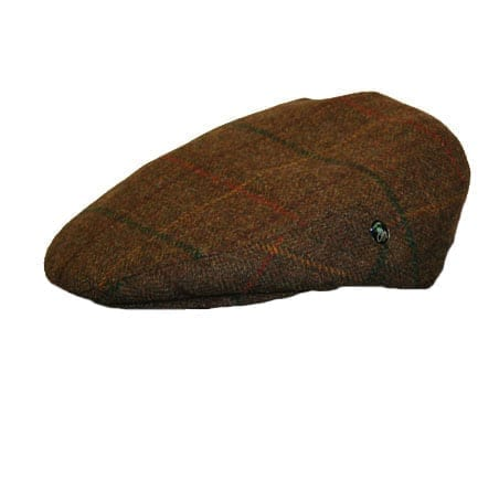 Brown Tower Newsboy Cap
