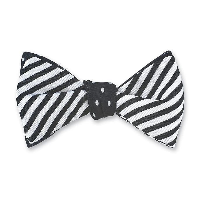 Sherman / Windsor Black Bow Tie