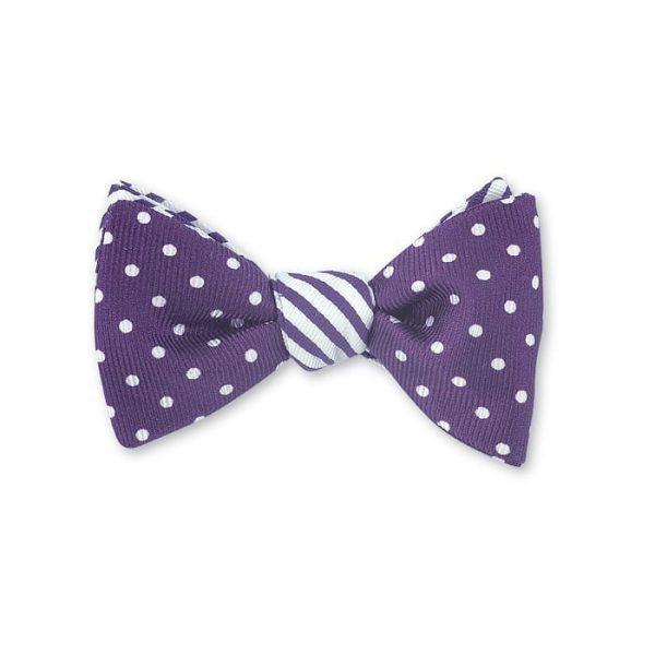 Windsor/ Sherman Bow Tie Purple