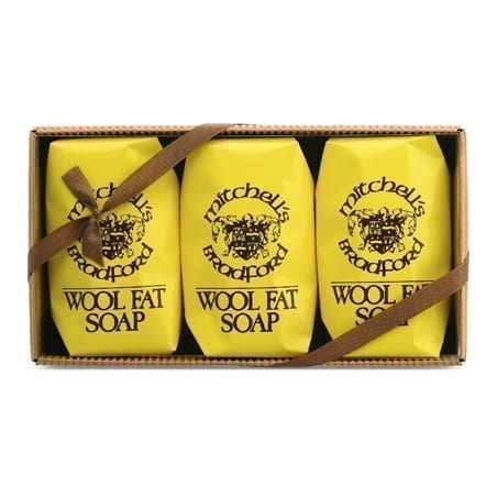 Wool Fat Soap, 3 Pack