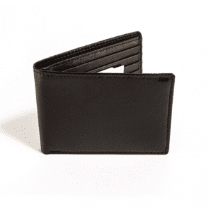 Slim Small Leather Wallet