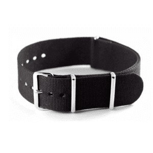 Black Grosgrain Watchband