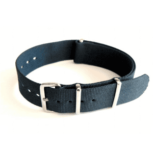 Navy Grosgrain Watchband