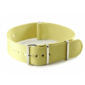 Sand Grosgrain Watchband