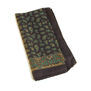 Silk Paisely Handkerchief