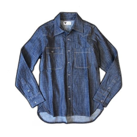 Topper Selvage Denim Shirt