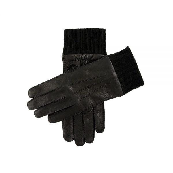 Dents Helston Black Gloves