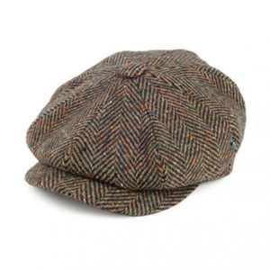 Newsboy Donegal Tweed Cap
