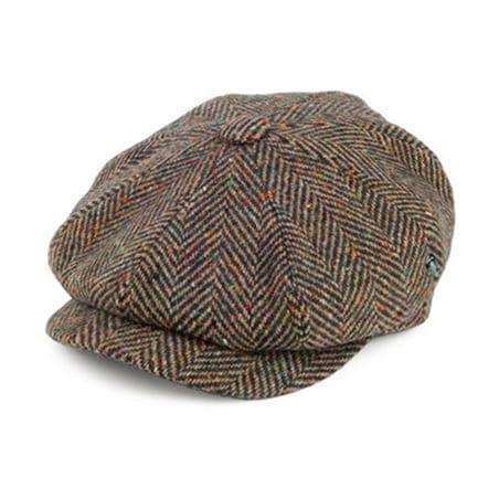 Newsboy Donegal Tweed Cap