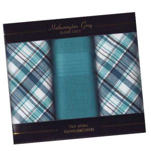 Cotton Handkerchiefs - Plaid Collection
