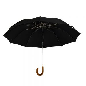 Telescopic Malacca Crook Umbrella
