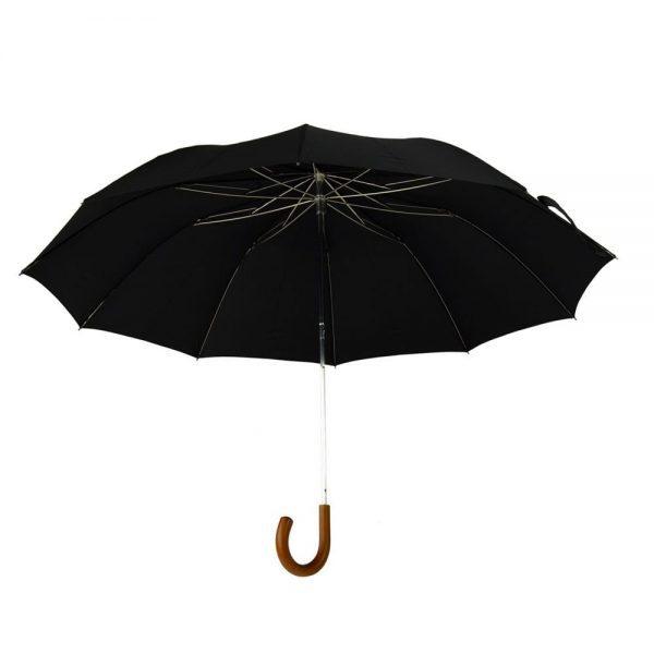 Telescopic Malacca Crook Umbrella