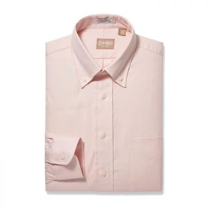 Button Down Pinpoint Pink