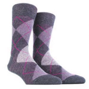 Knee High Argyle Socks