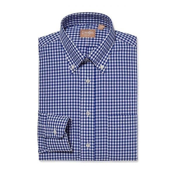 Button Down Gingham Check
