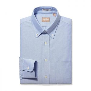 Button Down Oxford Blue