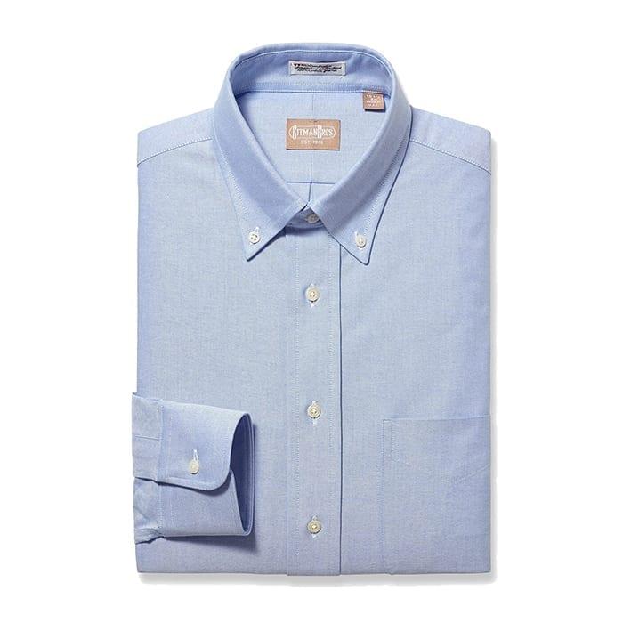 Button Down Oxford Blue