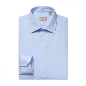 Tailored Fit Royal Blue Mini Twill