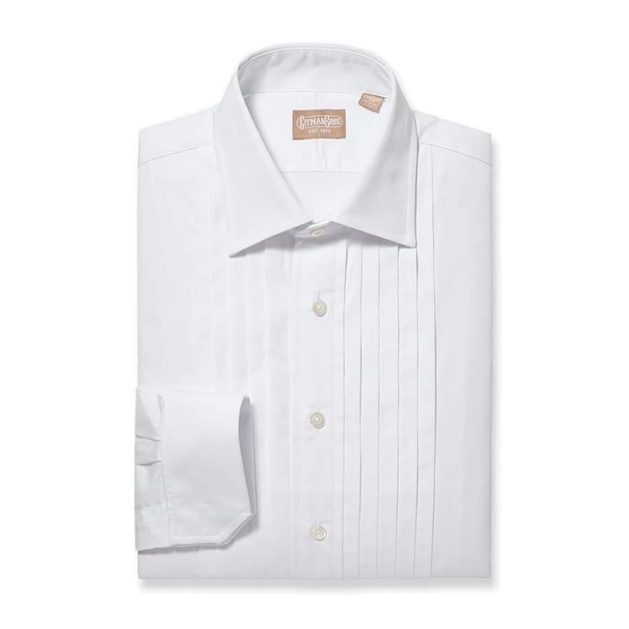 Tuxedo Shirt Five Pleat