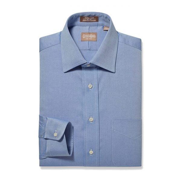 Medium Spread Pinpoint Blue