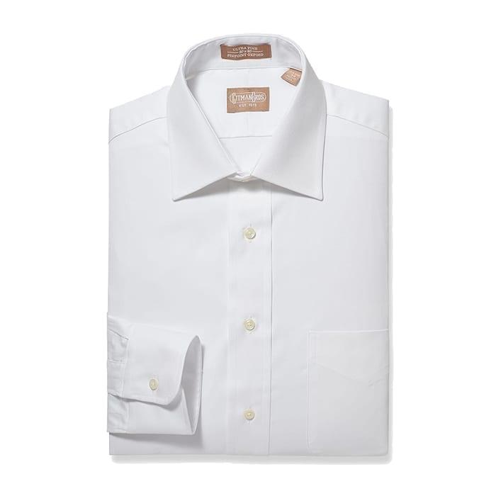 Medium Spread Pinpoint White