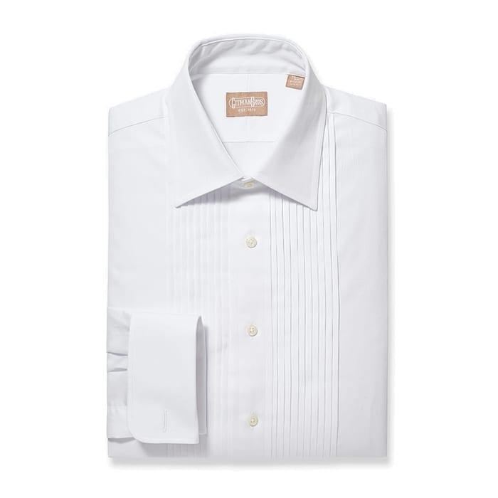 Tuxedo Shirt Ten Pleat