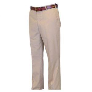 Poplin Flat Front Trousers