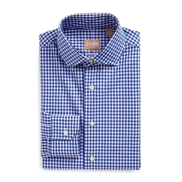 Tailored Fit Gingham