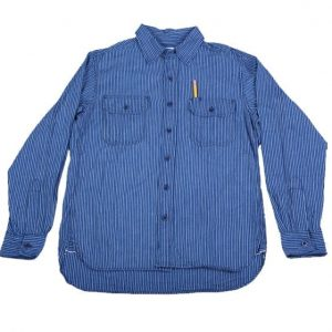 Clampdown Japanese Striped Selvedge Shirt
