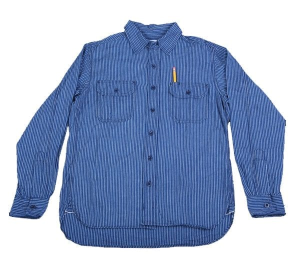 Clampdown Japanese Striped Selvedge Shirt