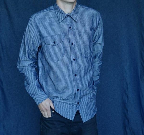 Two Pocket Dobby Shirt