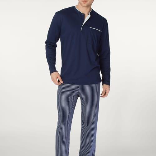 Striped Pant Length Pajama