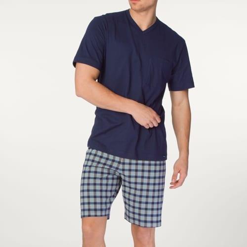 Plaid Short Length Pajama