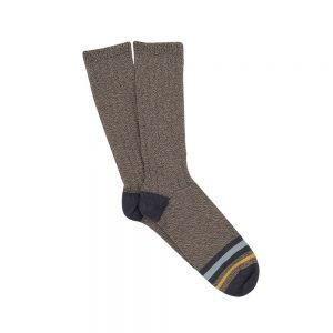 Corgi Stripe Grey Socks