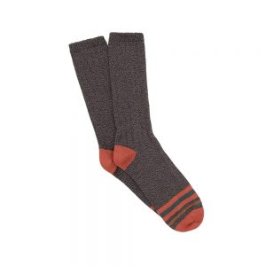 Corgi charcoal Stripe Socks
