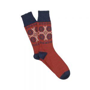Corgi Red Socks