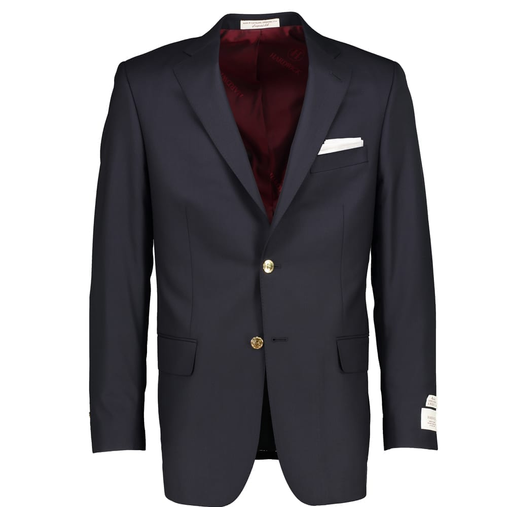 Barberis Italian Wool Navy Blazer