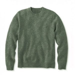Shetland Crew Neck Sweater