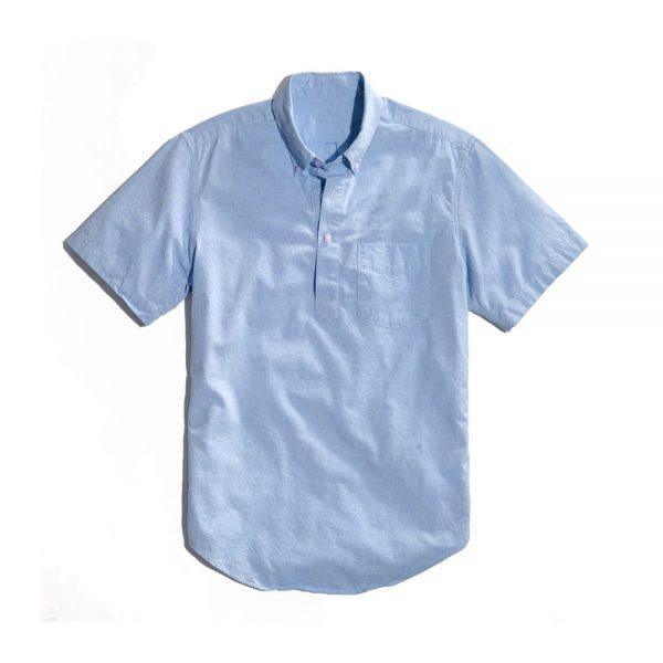 Popover Shirt Blue