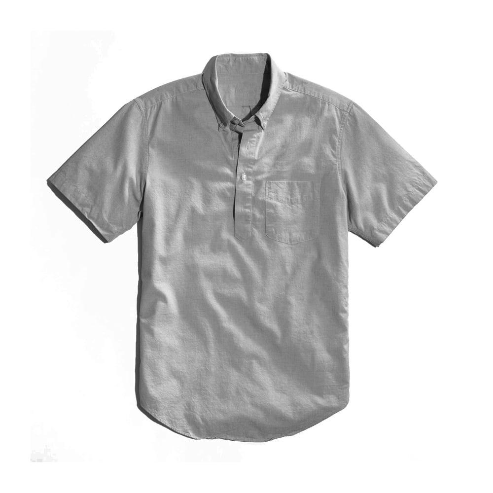 Popover Shirt Grey