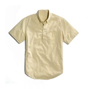 Popover Shirt Yellow
