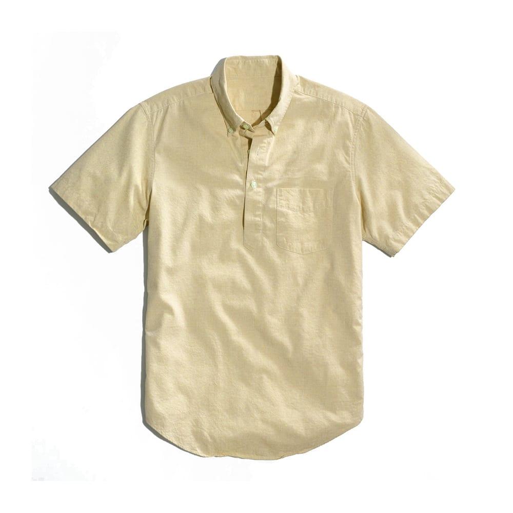 Popover Shirt Yellow