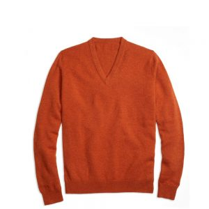 Scott Charter Tiger Orange Sweater
