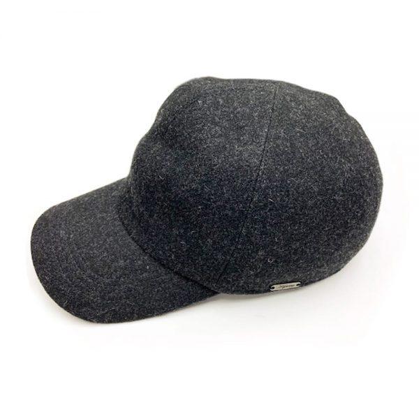 Wigens Classic Baseball Cap Grey