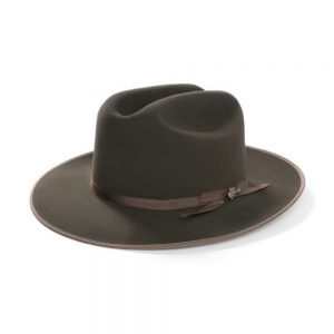stetson open road fedora sage