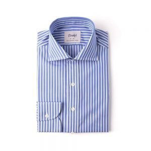 Drakes Bengal Wide Spread Shirt