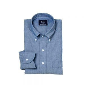 Drakes Chambray bd Shirt