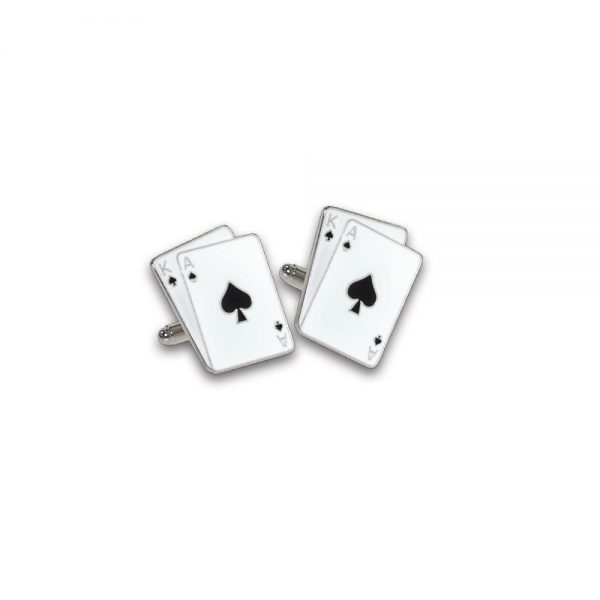 Ace King Cufflinks